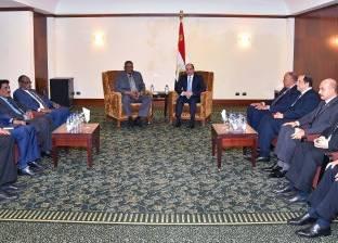 السيسي لنائب البشير: نهج مصر دائما هو الحرص على استقرار السودان