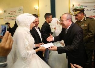 بالصور| محافظ كفر الشيخ يشهد توزيع أجهزة كهربائية على 35 عروسا يتيمة