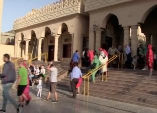 مسجد الميناء الكبير أحد المزارات الدينية بالغردقة