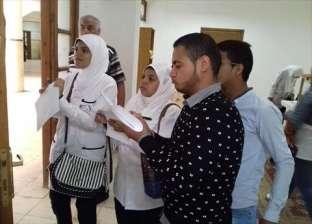 بالصور : إقبال كبير على انتخابات إتحاد الطلاب والأمناء بكليات جامعة القناة
