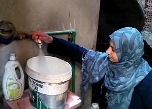 فرحة بسطاء المنيا بتسقيف وتوصيل مياه لمنازلهم