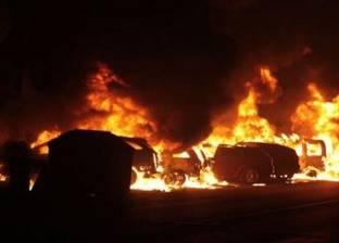 عاجل  انفجار عبوة ناسفة في مدرعة شرطة بالقرب من قسم ثان العريش