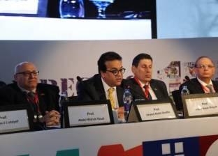 وزير التعليم العالي يشهد فعاليات المؤتمر الدولي لأورام الثدي