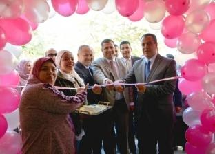 بالصور| نائب رئيس جامعة أسيوط يفتتح المعرض الخيري للملابس الجاهزة
