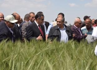 وزير الزراعة ومحافظ بني سويف يتفقدان مركز البحوث الزراعية بسدس