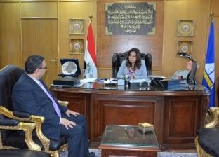 محافظ دمياط تستقبل مدير عام قصر الثقافة الجديد