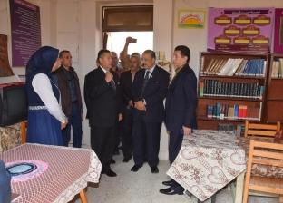 محافظ بني سويف يتفقد المدارس لاستقبال العام الدراسي