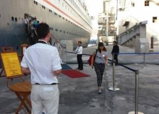 وصول وسفر 1736 راكبا بموانئ البحر الأحمر وتداول 487 شاحنة