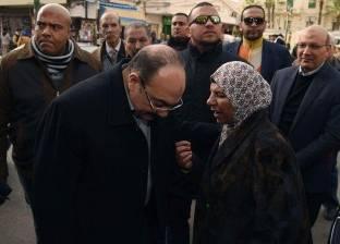 محافظ الإسكندرية يتفقد المركز التجاري للمجمعات الاستهلاكية بميدان محطة الرمل