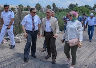 أعضاء محلية النواب يتفقدون الطرق الرئيسية في الإسكندرية