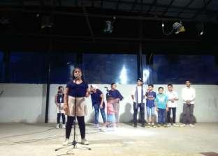 عرض كورال لأطفال كفر الشيخ احتفالا بنصر أكتوبر