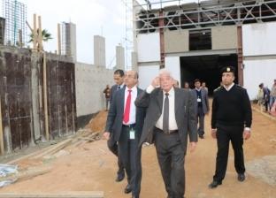 بالصور| محافظ جنوب سيناء يتفقد أعمال تطوير مطار شرم الشيخ الدولي