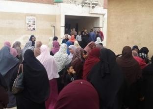 بالصور| تزايد إقبال الناخبين على لجان الحامول بكفر الشيخ