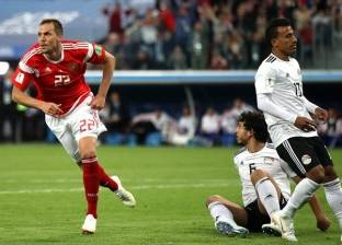 بالفيديو.. مصر تسقط أمام روسيا بثلاثية كارثية