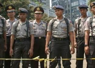 الشرطة الإندونيسية تعتقل شخصين يشتبه في كونهما من المتشددين