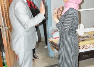 """""""شلقامي"""" يتفقد مدينة الطالبات بجامعة أسيوط ويعد بحل أزمة تعطل السخانات"""