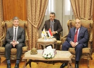 """""""التراس"""" يلتقي سفير قبرص بالقاهرة لبحث سبل التعاون وفتح آفاق جديدة"""