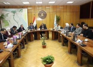 """""""سعفان"""" يلتقي وفد برلماني أردني لدعم التعاون المشترك"""