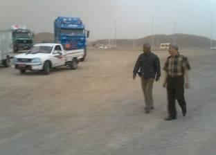 رئيس مدينة القصير يتابع الطرق وآخر تطورات الحالة الجويةبالمدينة