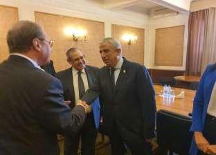 وفد خارجية النواب في موسكو يلتقي وزير الخارجية الروسي