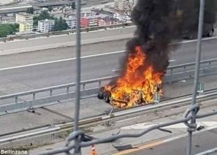 مقتل سائق في انفجار سيارة كهربائية بألمانيا
