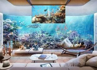 بالصور  تعرف على أسعار المنازل الزجاجية تحت الماء في دبي