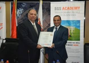 """مطار القاهرة يتسلم شهادة الجودة العالمية """"أيزو 9001"""""""
