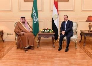عاجل| الرئيس السيسي يلتقي الملك سلمان