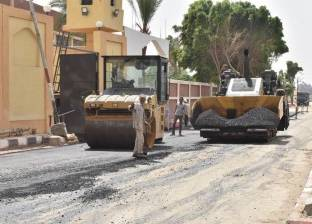 الانتهاء من رصف طريق بدر بقرية الروضة بالإسماعيلية بتكلفة 500 ألف جنيه