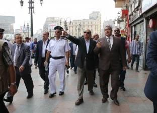 محافظ القاهرة يختبر سرعة استجابة الحماية المدنية والمرور ببلاغات وهمية