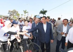 """انطلاق مهرجان الدراجات ضمن احتفالات العيد القومي لـ""""البحيرة"""""""