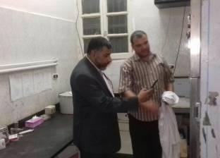 بالصور| مدير الرعاية بالشرقية يتفقد مستشفى كفر صقر المركزي