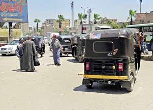 تركة رئيس حى الهرم: سرقة وتكاتك وقمامة وكلاب ضالة