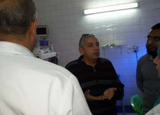 """وكيل """"صحة دمياط"""" يتفقد أقسام مستشفى فارسكور ويناقش بروتوكول التعامل مع الطوارئ"""