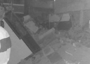 شاهد عيان عن انهيار منزلي أسيوط: تم إخلاءه مساء أمس