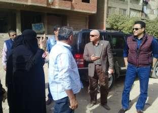 نائب محافظ القاهرة يطالب بإزالة الإشغالات بمحيط أرض الثلاث ملاعب