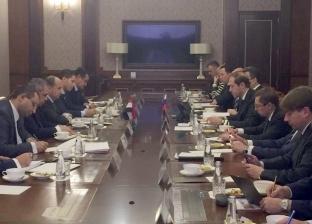 نصار يبحث مع نظيره الروسي تعزيز الشراكة الاستراتيجية بين البلدين