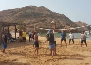 رحلة بحرية لأبناء نادي الجالية المصرية بسلطنة عمان