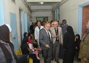 الجمال: وضع خطة لتطوير الاستقبال العام والطوارئ بمستشفى أسيوط الجامعي