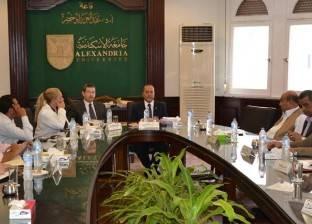 فرع مطروح بجامعة الإسكندرية يعتمد لائحة الدراسات العليا لكلية التمريض