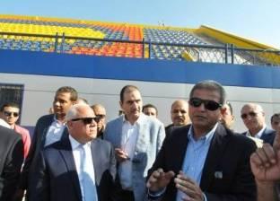 وزير الرياضة: سعر الصرف وراء تأخر افتتاح القرية الأولمبية ببورسعيد