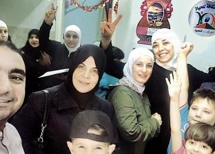 مصريون يدعمون السوريين بسلع غذائية: رمضان كريم