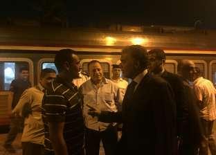 بالصور| وزير النقل يتفقد استعدادات محطة سكك حديد الجيزة للعام الدراسي