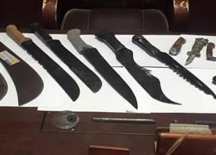"""تجديد حبس عاطل بتهمة الإتجار في الأسلحة البيضاء بـ""""العمرانية"""""""
