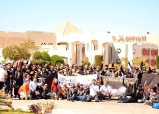 """100 دراجة نارية تشارك في مهرجان """"سيناء آمنة 2"""""""