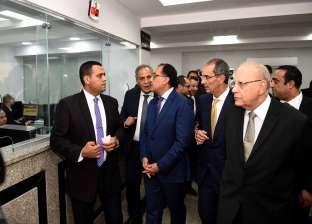 رئيس الوزراء يتفقد مستشفي السلام في بورسعيد