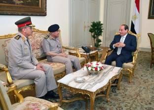 السيسي يشكر صدقي صبحي على جهوده في مواجهة الإرهاب