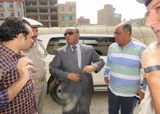 مدير أمن الغربية يتفقد قسم شرطة ثان طنطا وكمائن المرور بطنطا