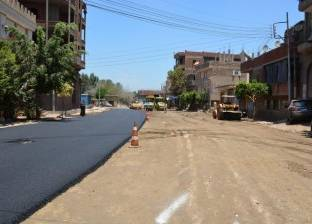 """استجابة للأهالي.. استكمال رصف شارع """"بن حنبل"""" بحي منتزه الإسكندرية"""