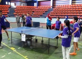 انطلاق بطولة أسوان الثانية لتنس الطاولة لمحافظات الصعيد